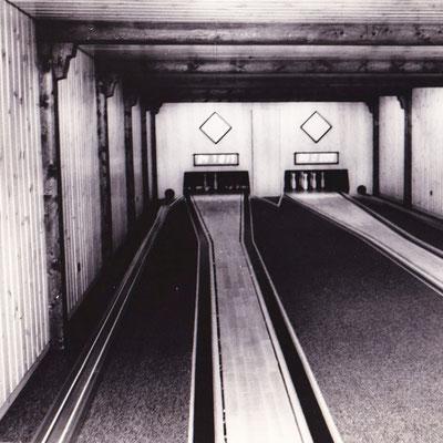 Kegelbahn in den 70ern