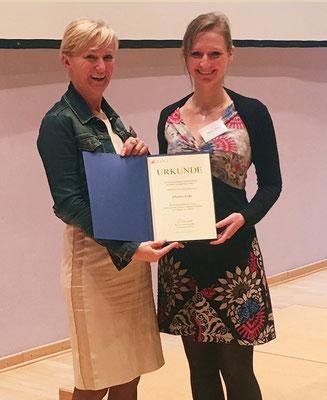 Masterarbeitspreisträgerin:  Johanna Sroka