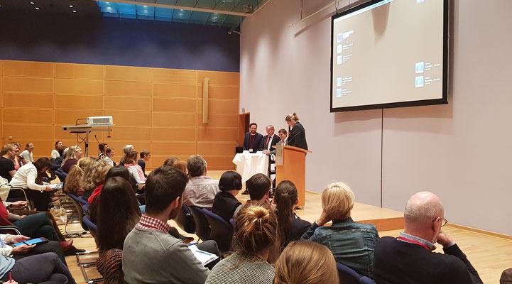 Podiumsdiskussion mit unseren Rednern