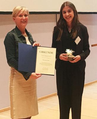 Masterarbeitspreisträgerin:  Theodora Fouki