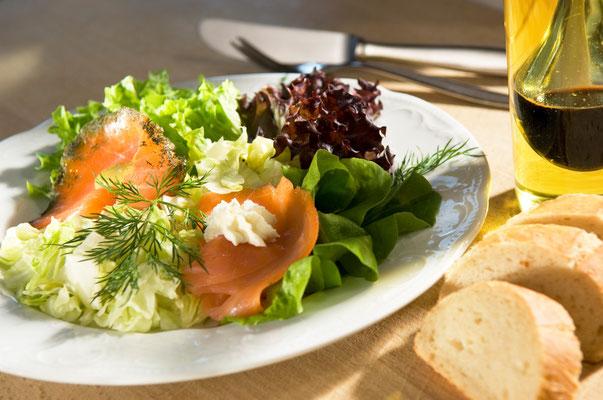 Hartlefs Gasthof, Bützflether-Moor, Stade, Essen, Salate& kalte Platte