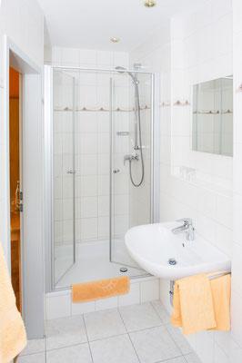 Gasthof Hartlef, Stade-Bützfleth, Dusche & Bad, Hotelzimmer