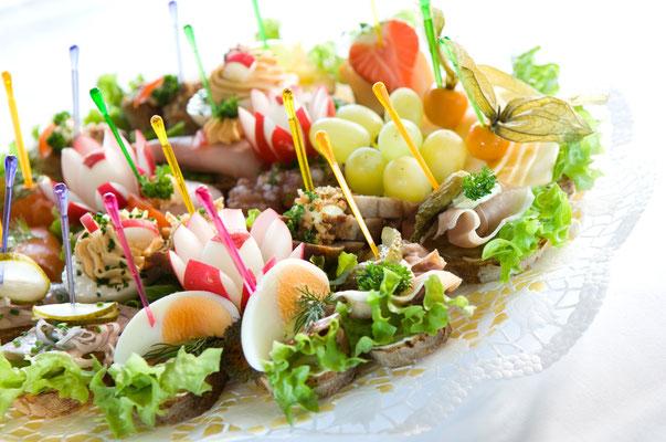 Gasthof Hartlef, Stade, Partyservice, Catering, Feiern, Schnittchen & Büffet