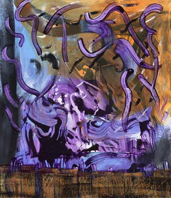 Allergy, 2019, acrylic on canvas, 110 x 95 cm