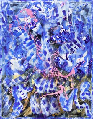 RE2 (Miller), 2020, acrylic on canvas, 190 x 150 cm