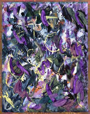 RE3 , 2020, acrylic on canvas, 190 x 150 cm