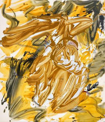 Nimbostratus Magnum, 2021, acrylic on canvas, 110 x 95 cm