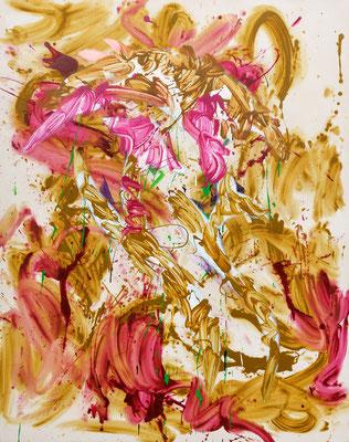 odr (Pearl), 2019, acrylic on canvas, 190 x 150 cm