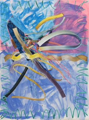 Yolo, 2017, acrylic on canvas, 200 x 150 cm