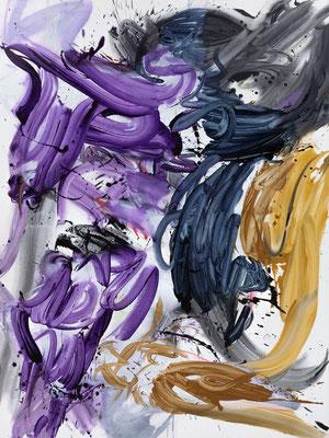 Bringer, 2021, acrylic on canvas, 200 x 150 cm