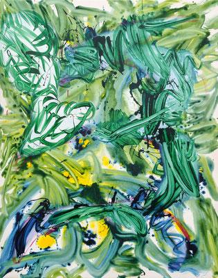 Cumulus Bumper, 2021, acrylic on canvas, 190 x 150 cm
