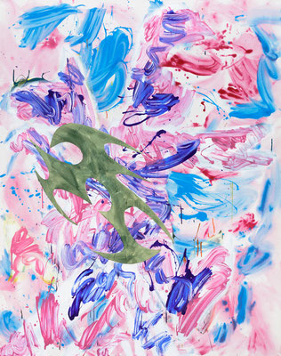 Thief _ 2019 _ acrylic on canvas _ 190x150cm