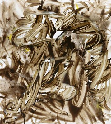 Glorit, 2021, acrylic on canvas, 90 x 80 cm