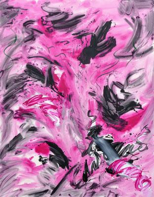 Angora Muscle, 2021, acrylic on canvas, 200 x 150 cm