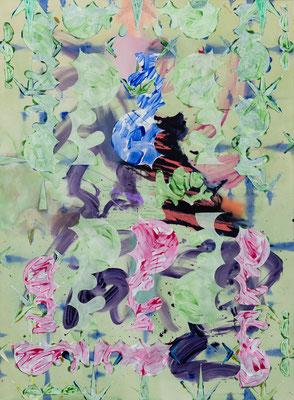 P.A.O.III, 2019, acrylic on canvas, 200 x 150 cm