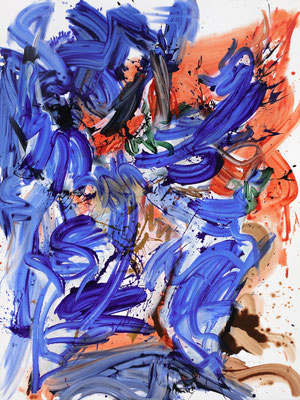 Zimbo, 2021, acrylic on canvas, 200 x 150 cm