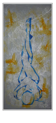 'Zen with me #1' Size: 63x123x4
