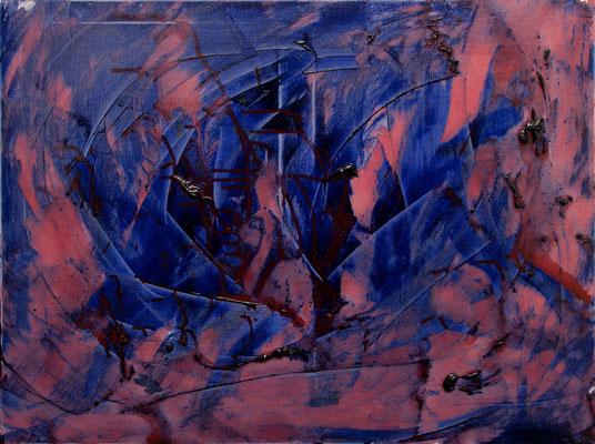 "Abstrakte Welt 3, 60x80 cm, 23,6""x31,5"""