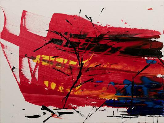 "Abstrakte Welt, 60x80 cm, 23,6""x31,5"""