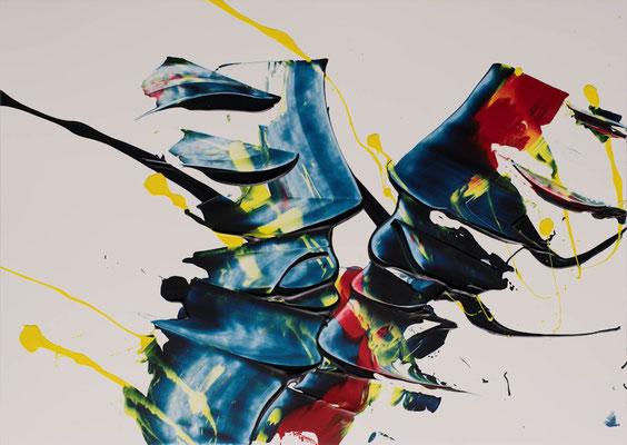 """Leidenschaft, PP, 34x48 cm, 13 1/2""""x19"""""""