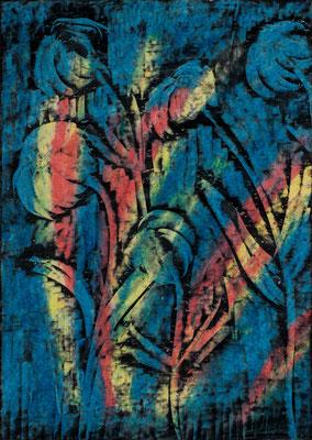 "Blumen, Papier, 29,7 x 42 cm, 11,7""x16,5"""