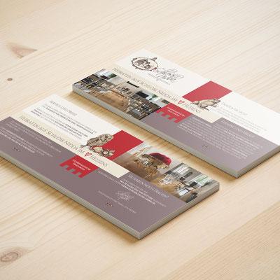 Flyer – inkl. Illustrationen & Logodesign