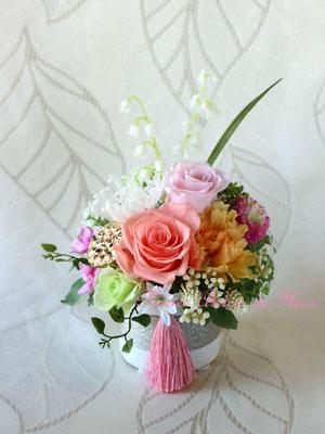 Ayane 彩音(あやね)プリザーブドフラワーのお供え花