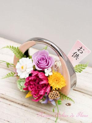 Fuka 風花(ふうか)プリザーブドフラワーのお供え花