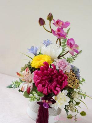 Yuka 優花 ゆうか プリザーブドフラワーのお供え花