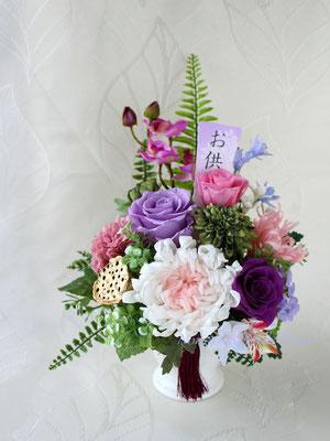 Kizuna02 きずな02 プリザーブドフラワーのお供え花