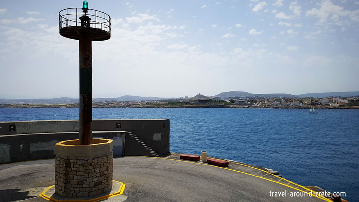 Lighthouse Heraklion