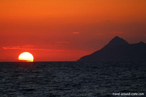 Sunset in Kalamaki