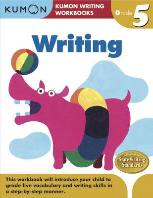 「Writing」アメリカ/カナダ用 小学生用ドリル(くもん出版)