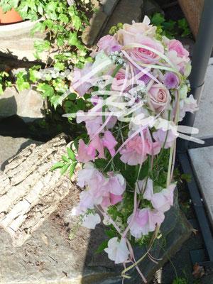 tropfen Brautstrauss Vicken Einfach Blume