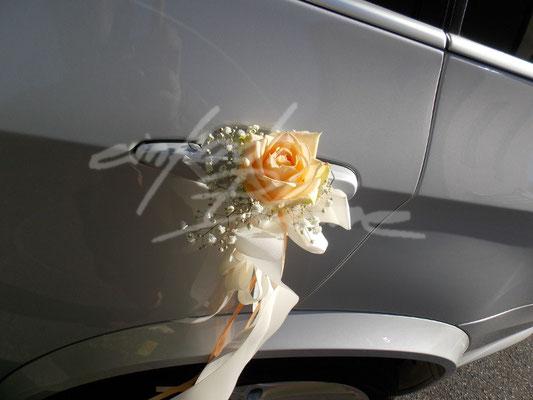 BMW Türdeko Rose Einfach Blume