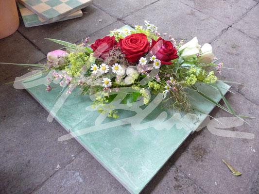 Langes Hochzeitsgesteck Einfach Blume
