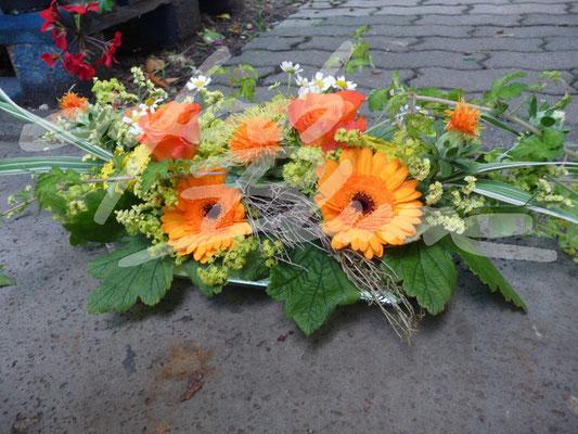 Langes Hochzeitsgesteck Sommer Einfach Blume