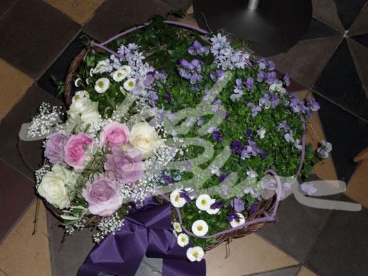 Trauerpflanzung Lila Einfach Blume