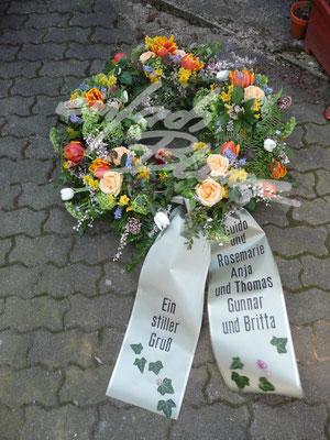 Trauerkranz fruehling Einfach Blume