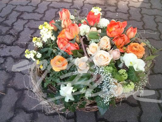 Trauerpflanzung bunt Einfach Blume