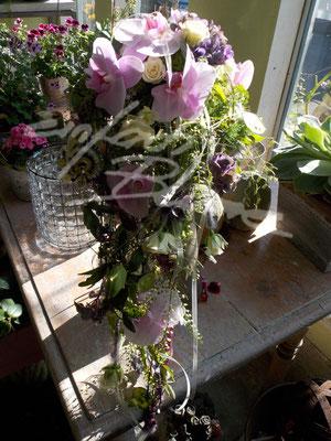 tropfen Brautstrauß Orchidee Einfach Blume