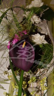 Calla Lila Hochzeitsgesteck Einfach Blume