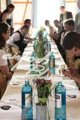 Hochzeitstisch Deko Einfach Blume