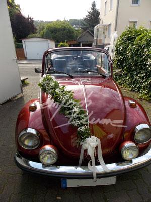 Oldtimer Rot Hochzeitsschmuck Girlande Einfach Blume