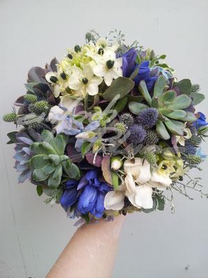 Spätsommerbrautstrauß Einfach Blume