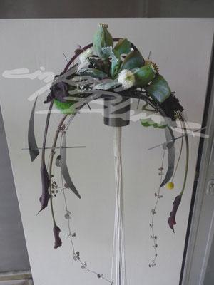 Brautstrauss Abstrackt Meisterpruefung Einfach Blume