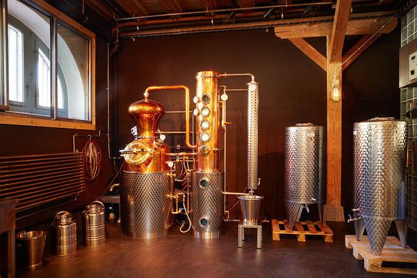 Brennofen für das Brennen von Spirituosen (Gin, Obstbrand, etc.)
