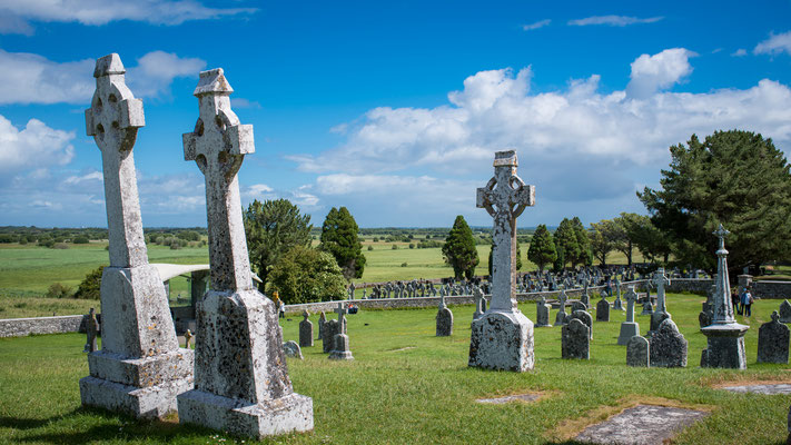 Clonmacnoise, ehemalige Klosteranlage