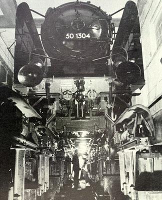 Letze Inspektion der 50 1304, 1941