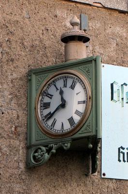 Uhr von der Oderbruchbahn